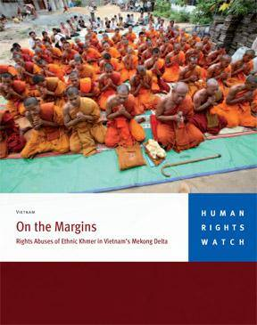 "Sách ""On the Margins Rights Abuses of Ethnic Khmer in Vietnam's Mekong Delta"""