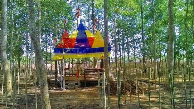 Lễ hội bị ngăn cản vì có cờ Khmer Krom?