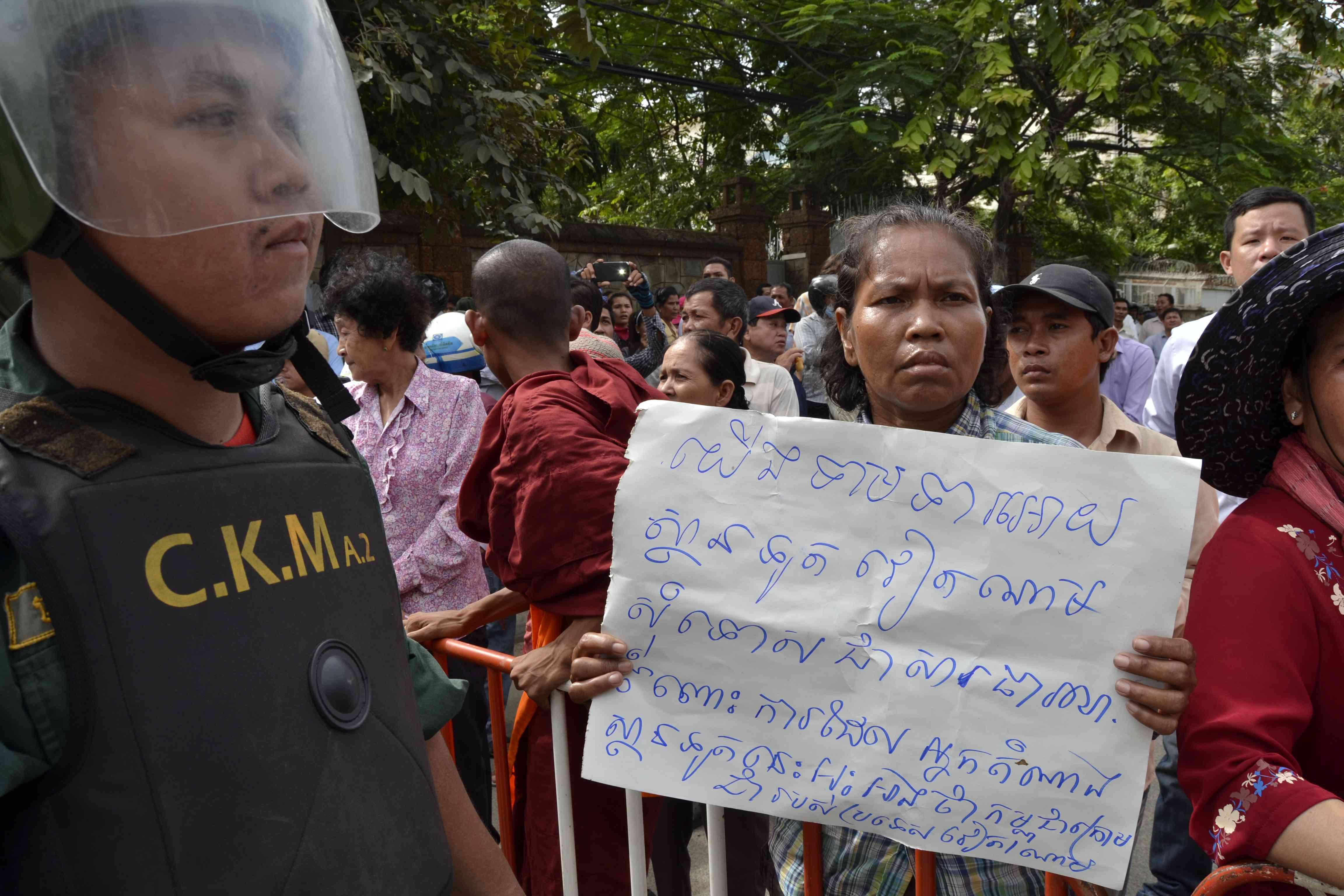 Việt Nam yêu cầu Campuchia ngăn chận biểu tình phản đối Việt Nam