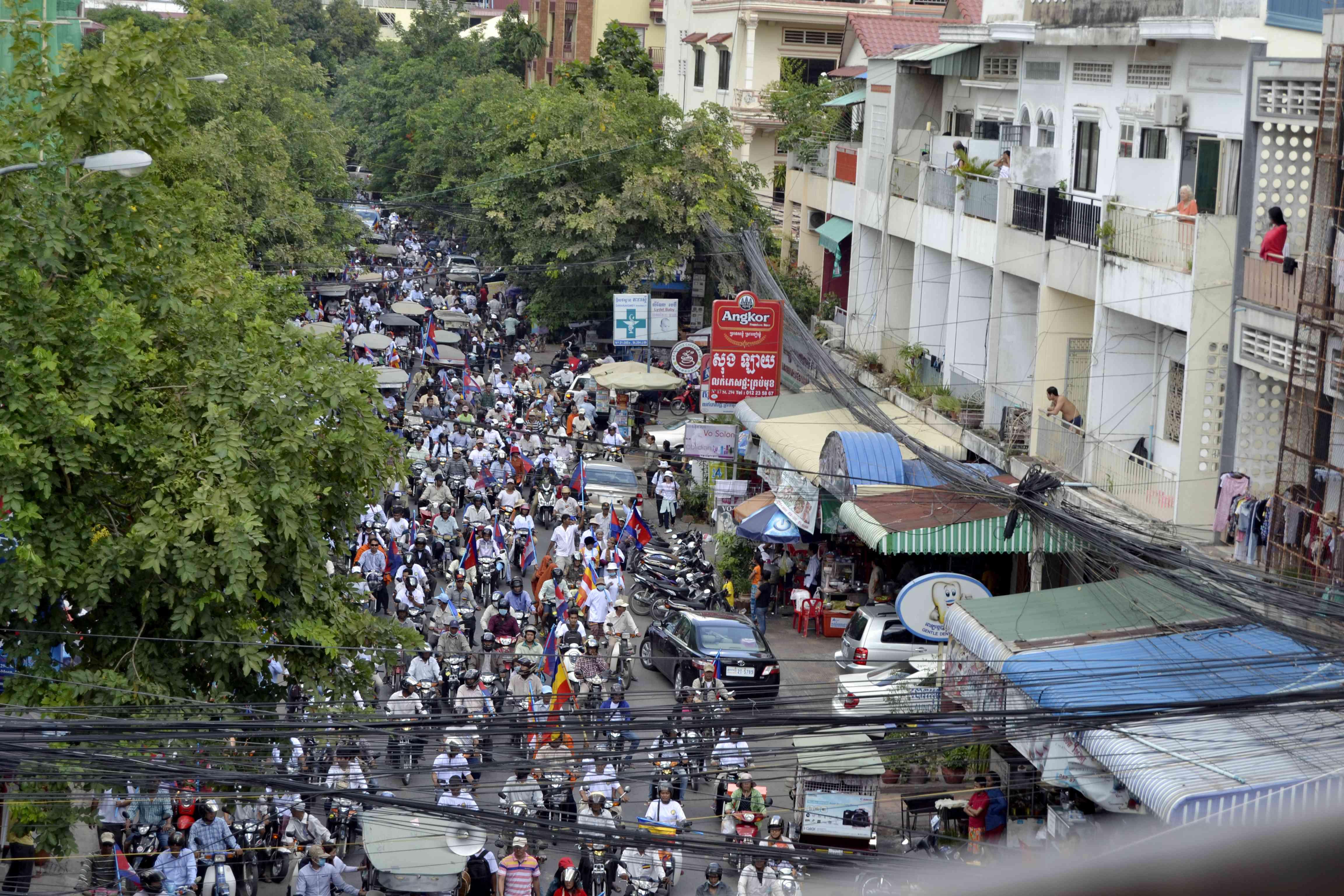 Biểu tình bài Việt Nam tiếp diễn ở Campuchia