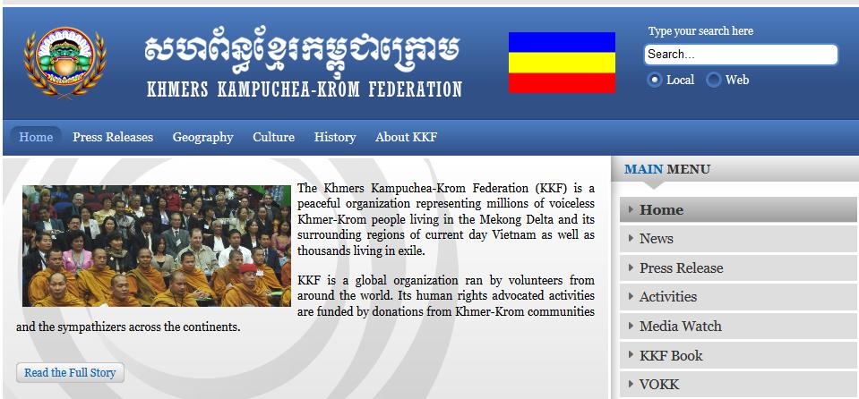 Khmer Krom kêu gọi VN phóng thích 2 người ở Trà Vinh