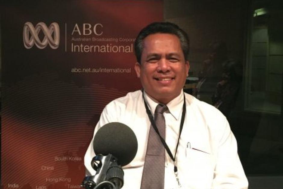 Ông Kem Ley nhà bình luận chính trị và một nhà hoạt động dân sự . Photo: ABC
